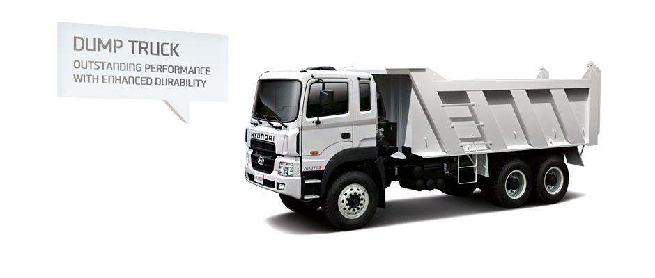 DUMP TRUCK. OUTSTANDING PERFORMANCE WITH ENHANCED DURABILITY