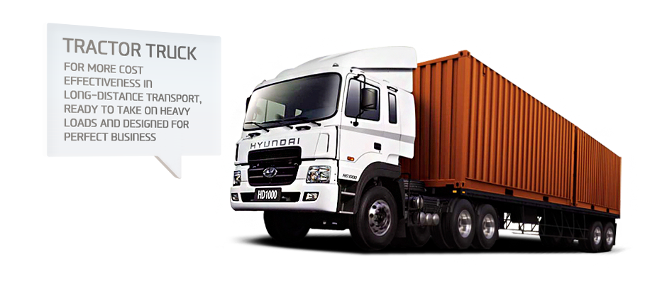 TRACTOR TRUCK. FOR MORE COST EFFECTIVENESS IN LONG-DISTANCE TRANSPORT, READY TO TAKE ON HEAVY LOADS AND DESIGNED FOR PERFECT BUSINESS